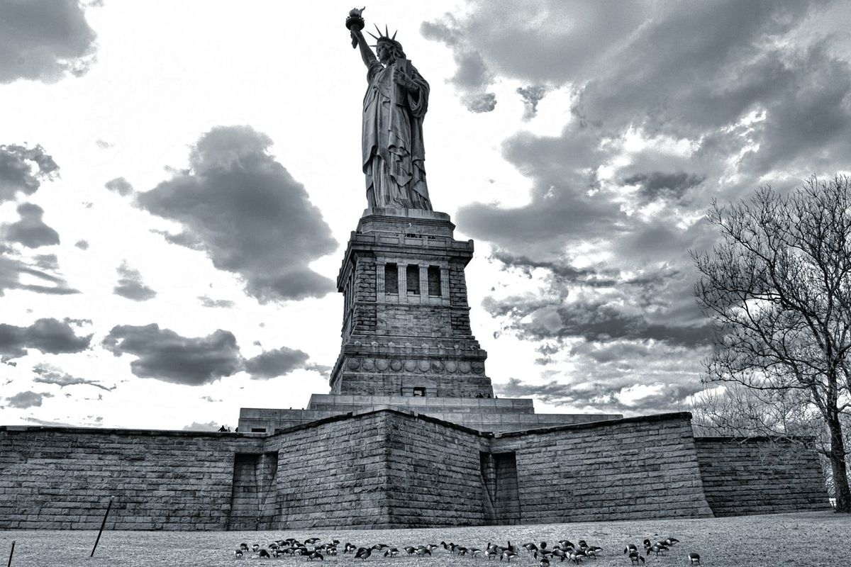 Showcase: January Freedom! Statue Of Liberty Beauty Redefined EyeEm Best Shots EyeEm Best Edits Visual Thought Architecture