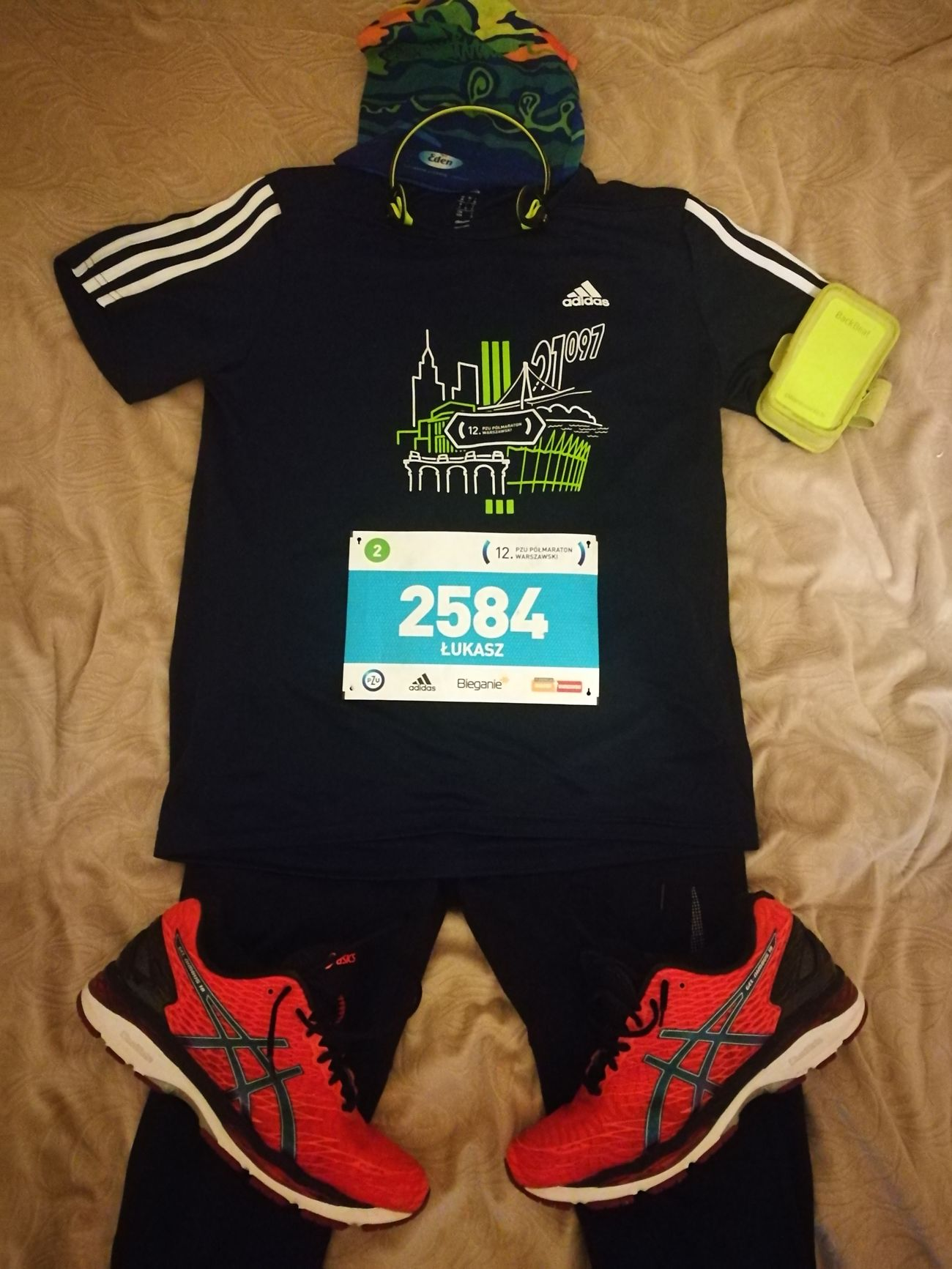 I'm ready for new race - Half Marathon - tomorow :D Warszawa  City Life Outdoors Enjoying Life Warsaw Check This Out That's Me Running