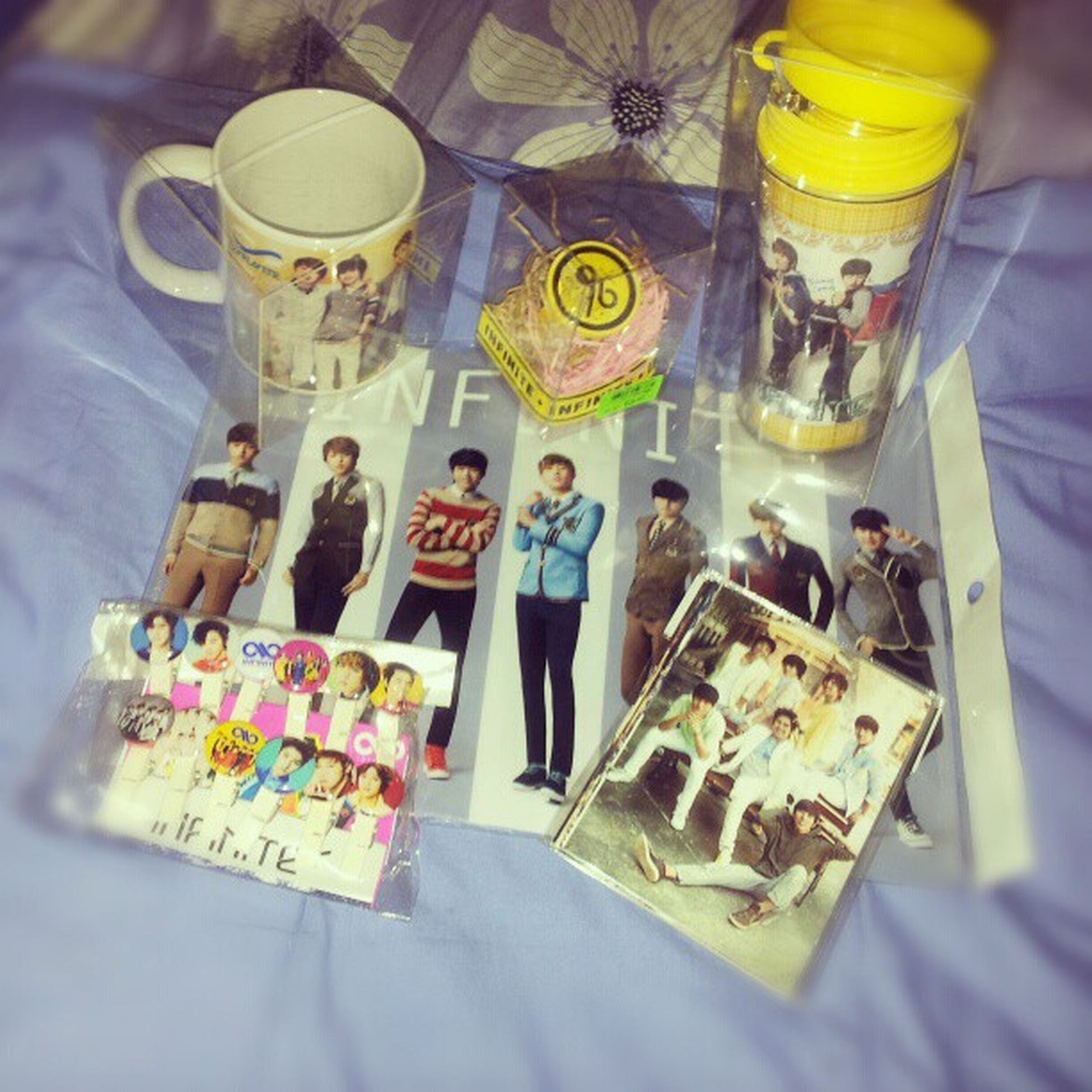 (;AAA;) Egumonina. Thank you so much, Aunty! I'll take this as your way of acknowledging my beloved boys!! ♥ 인피니트 BiggestINFINITEfan