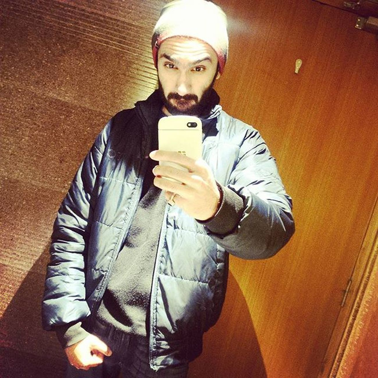 Winter is coming. x Winter Nights  Dilli Delhidiaries DelhiGram Beard Beardgang Blackberryq10 DelhiLove Bomberjacket NYC Sodelhi 600thpost