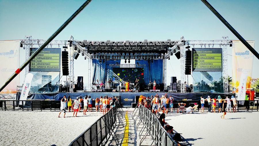 Concert Kusadasigenclikfestivali Konser Stage Taking Photos Enjoying Life Mixer Macro