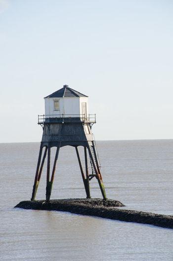 Dovercourt Low Lighthouse Architecture Clear Sky Essex Lighthouse Victorian Cast Iron Dovercourt Flat Landmark Old Sea Sky Warning