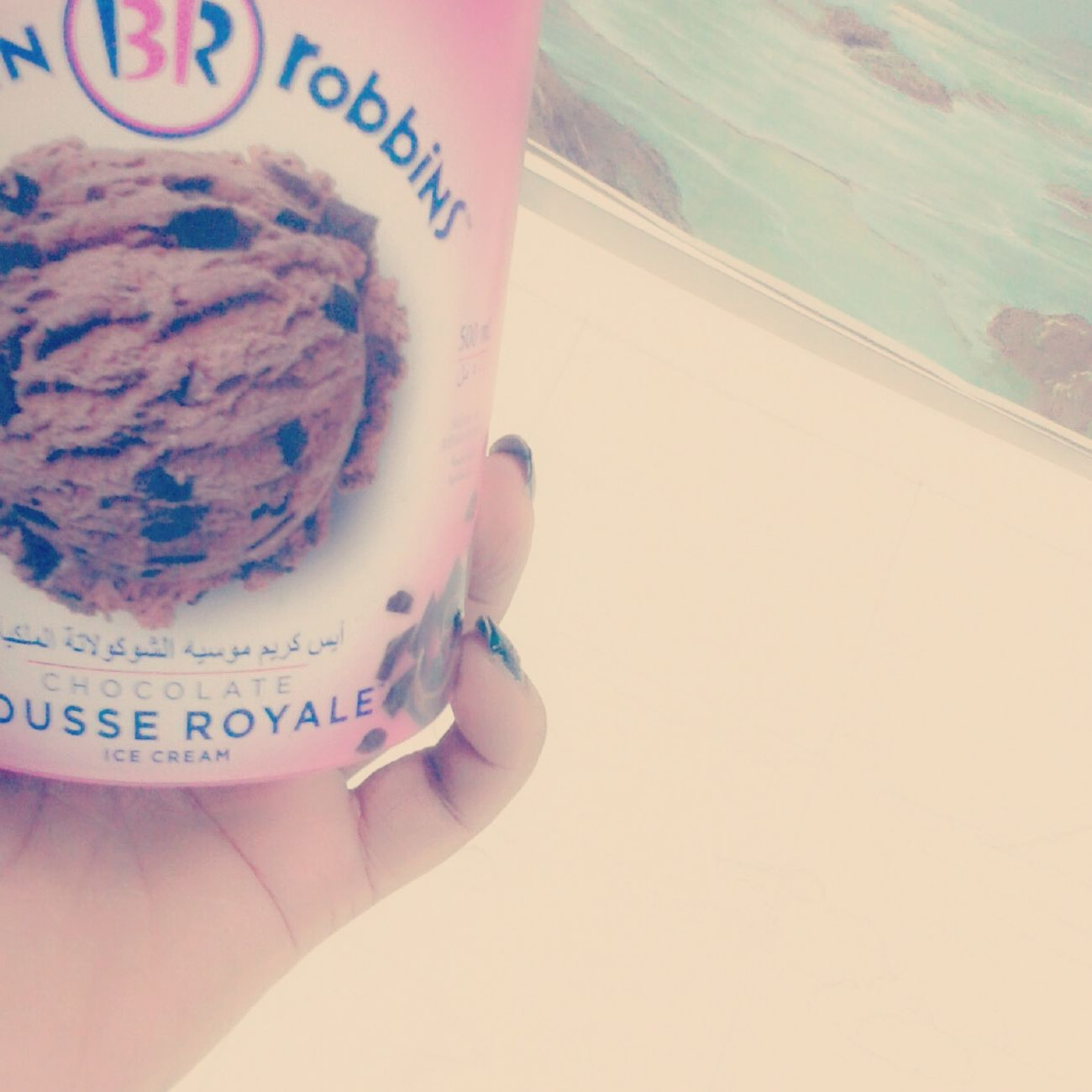 Baskin Robbins Love Chocolate Chocolate Mousse Royale