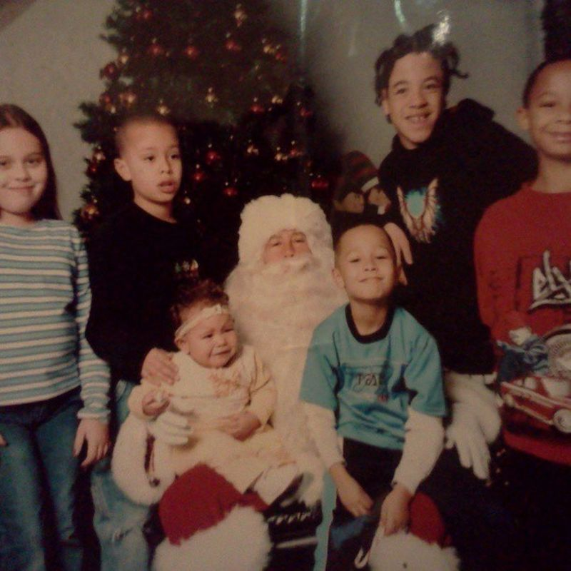 This ain't Thursday ...but this sure is a Throwback Imachunker Family Mybros sissy santa christmas