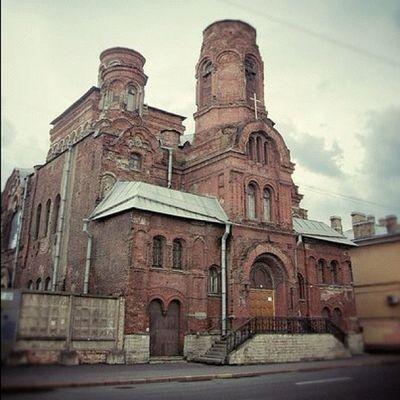 Abandoned Church Spb Streets russia питер россия церковь заброшено кирпич фото snapseed nikon building photo