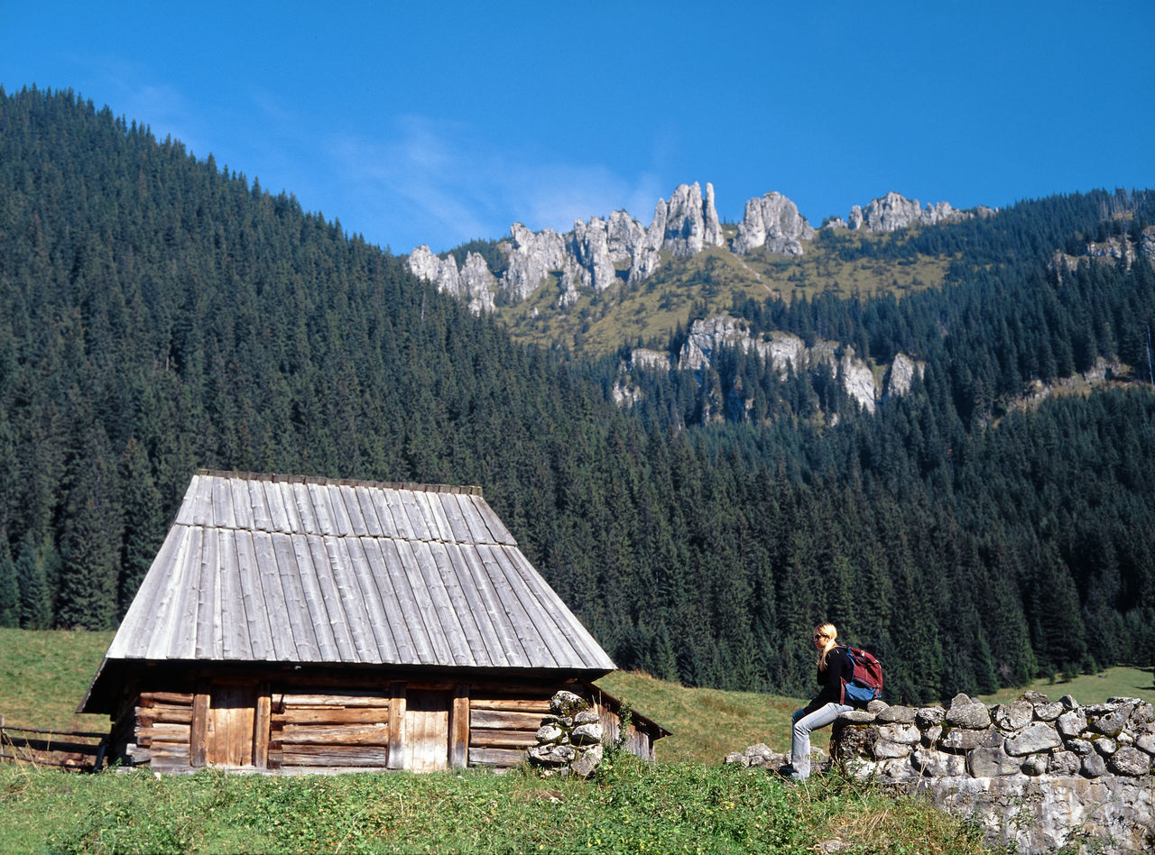 Beauty In Nature Day Dolina Chochołowska Hut Mountain Mountains Nature Outdoors Polana Chocholowska Shelter Shepherd Shepherd Hut Tatry Tatry Mountains