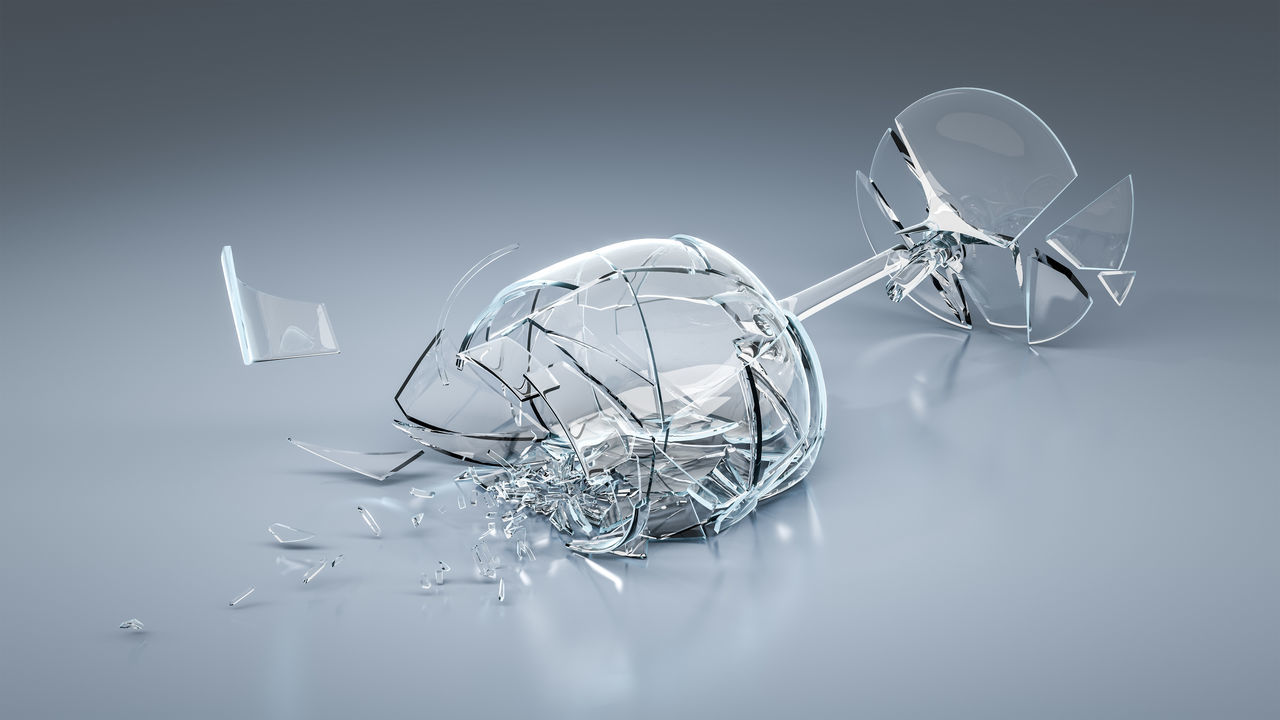 Beautiful stock photos of glas, Blue Background, Breaking, Broken, Cut Out