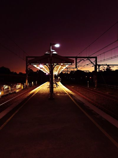 Trainstation Colours Nightphotography Fine Art Photography Mcdonaldtown Station Sydney Hidden Gems  Colour Of Life