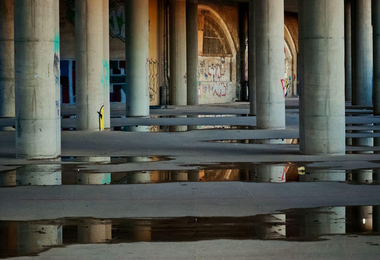 Puddle Under Bridge
