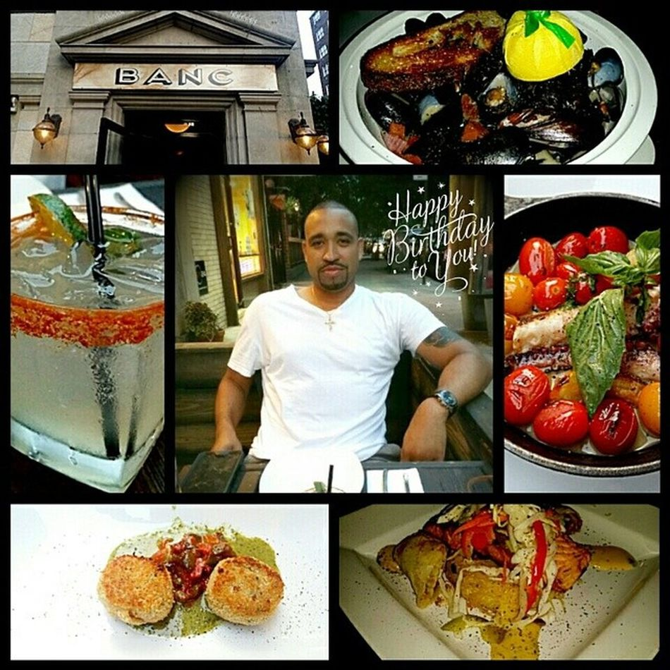 Came out for an early bday dinner. If you are ever in the kips bay area of the city go check out Banccafe food is on point and the drinks are great. If you are at the bar get your drinks from Andy if you get a table make sure they seat you with Brian both are very cool guys and make you enjoy your time there. Nycalive Birthday Bday dinner citylife nightlife goodtimes foodie foodporn foodoverload drinks kipsbay city ny nyc nylife nystyle crabcakes grilledoctopus mussels salmon yummyinmytummy nomnom