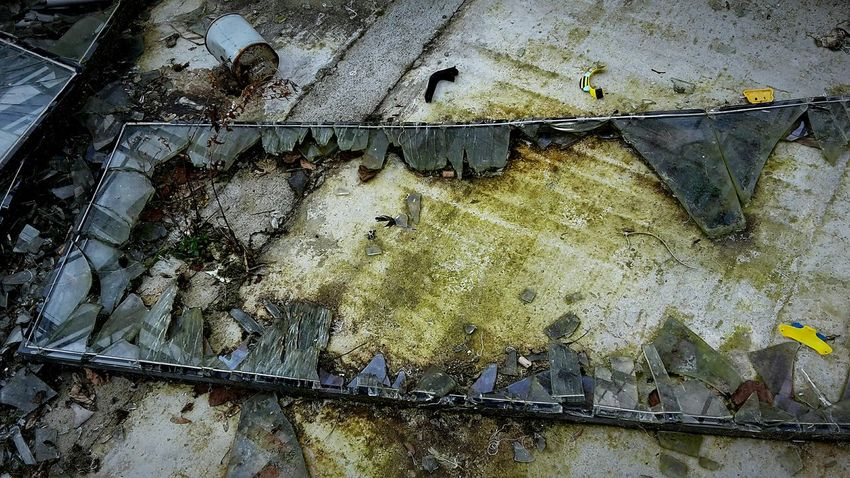 Lost Places Lost Place Lost Glass Broken Glass Shards