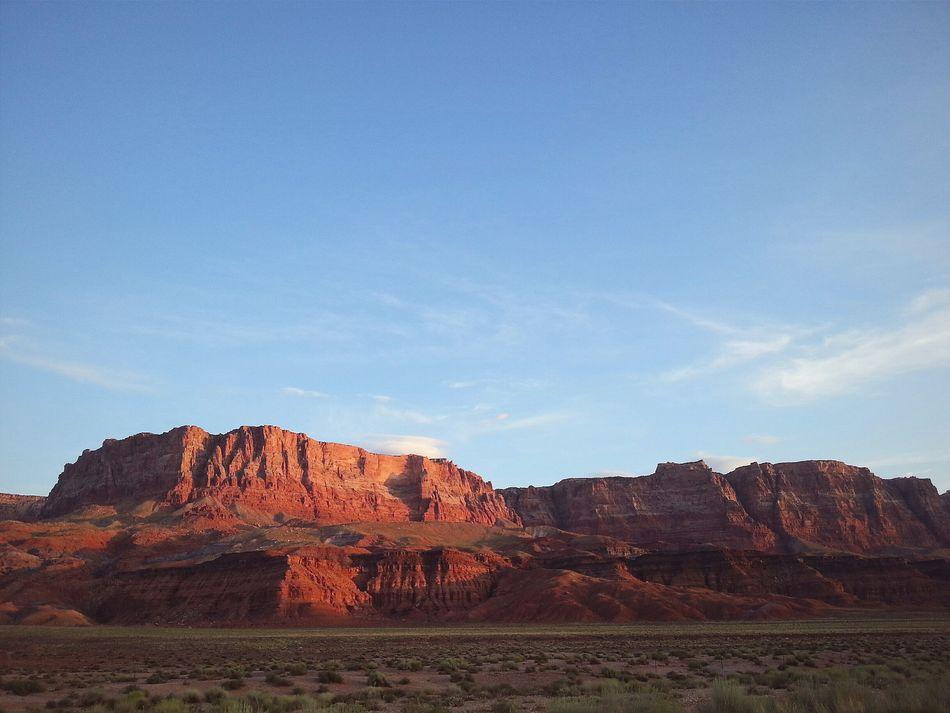 First light. Vermilion Cliffs, Arizona. RoadTripxUSA Vermilion Cliffs Arizona
