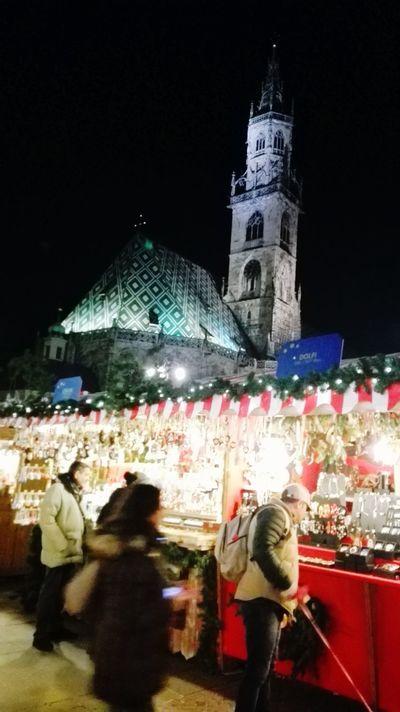 Seeing The Sights Bolzano - Bozen Trentino Alto Adige Duomo Hello World Mercatino Di Natale Italy Südtirol Mercarino Di Natale Bozen Christmas Lights!