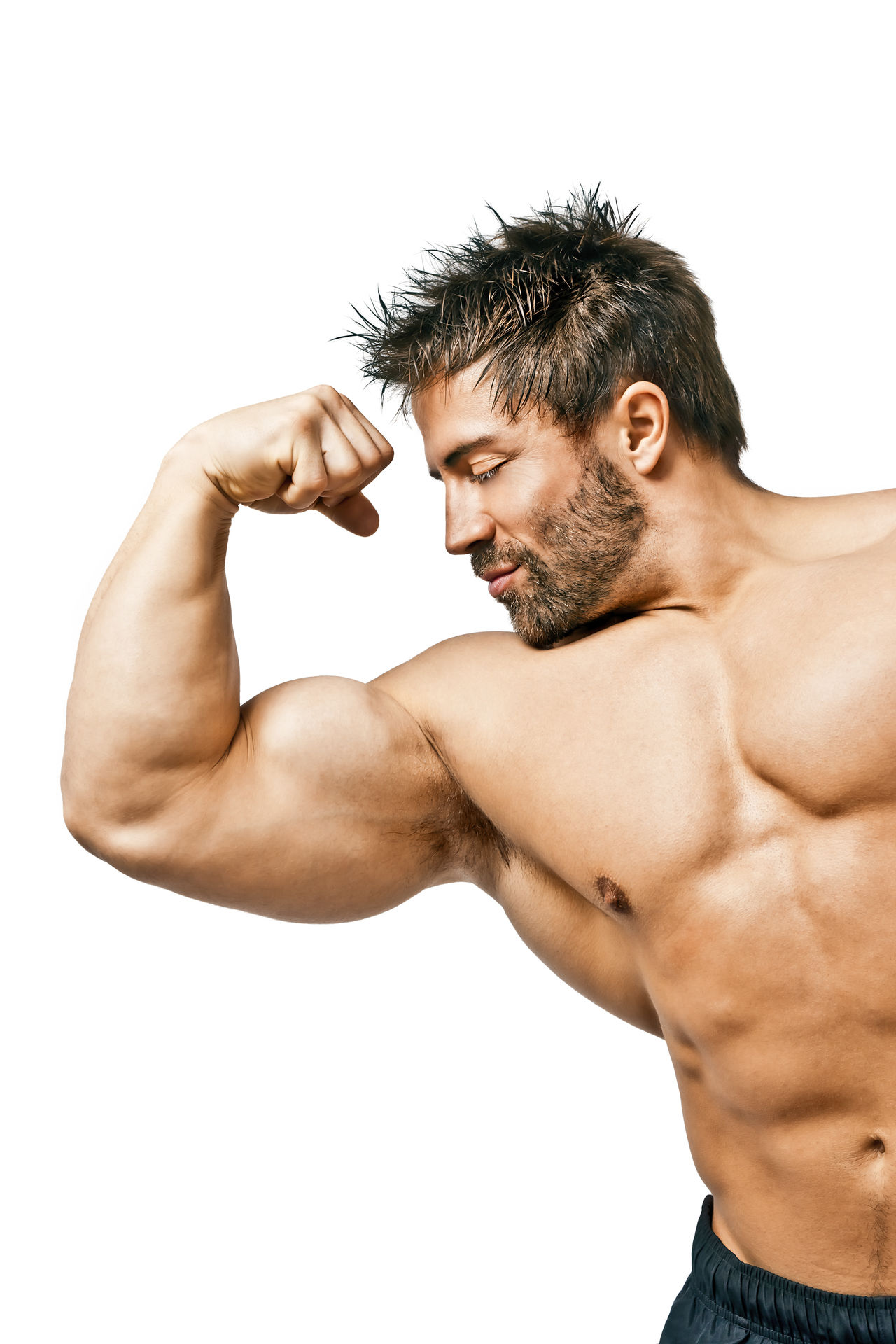 Beautiful stock photos of bart, 30-34 Years, Beard, Bicep, Caucasian Ethnicity