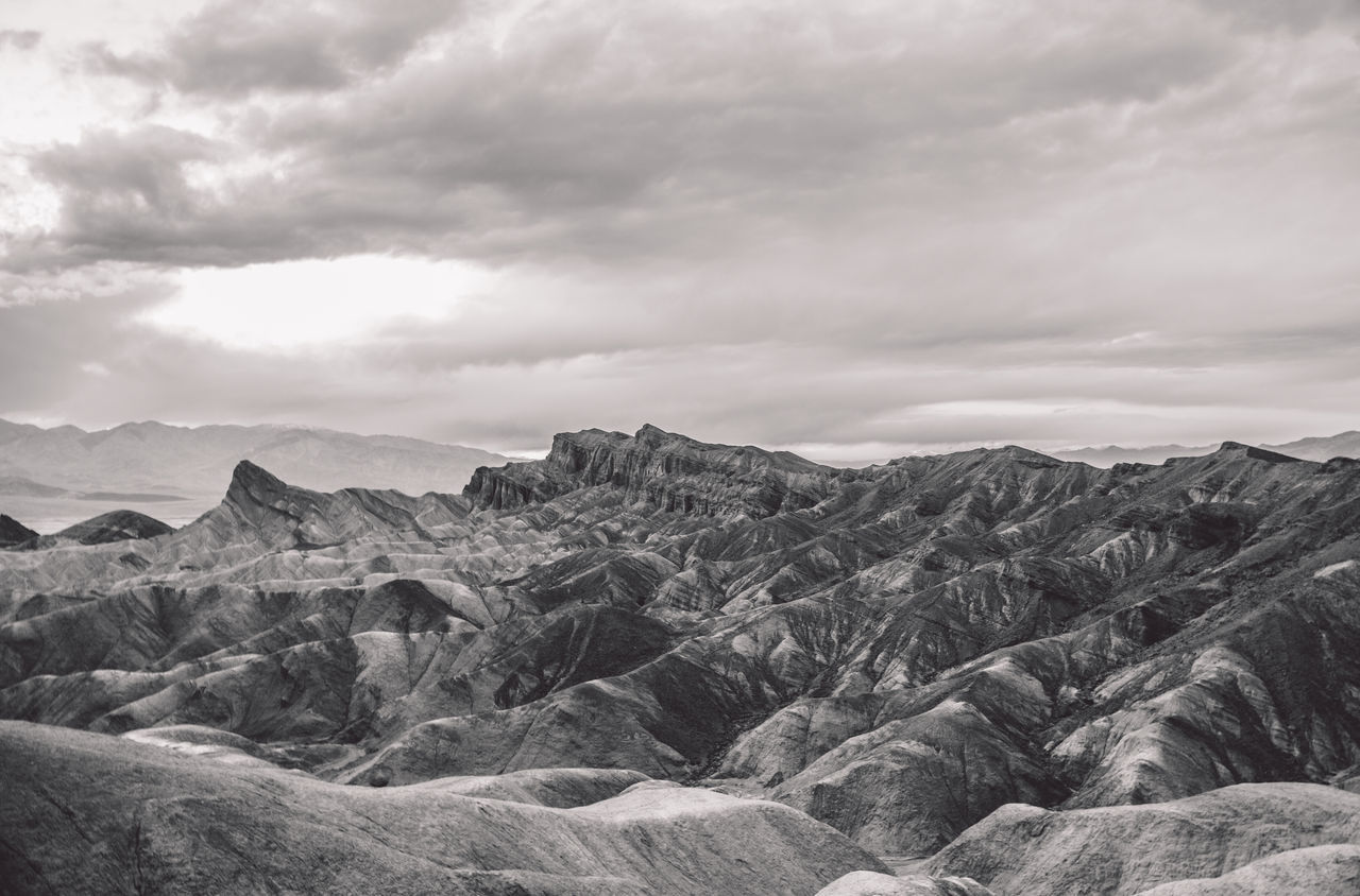 Arid Climate Arid Landscape Beauty In Nature Cloud - Sky Clouds Day Death Valley Death Valley National Park Death Valley, California Desert Geology Landscape Mountain Mountain Range Nature No People Outdoors Physical Geography Scenics Sky Storm Tranquil Scene Tranquility