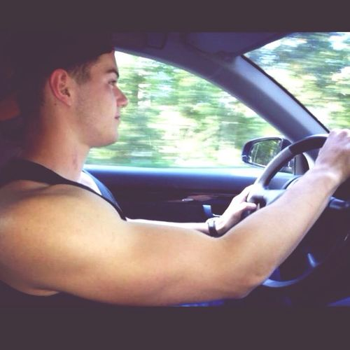 That's Me Driving Cheese! Enjoying Life
