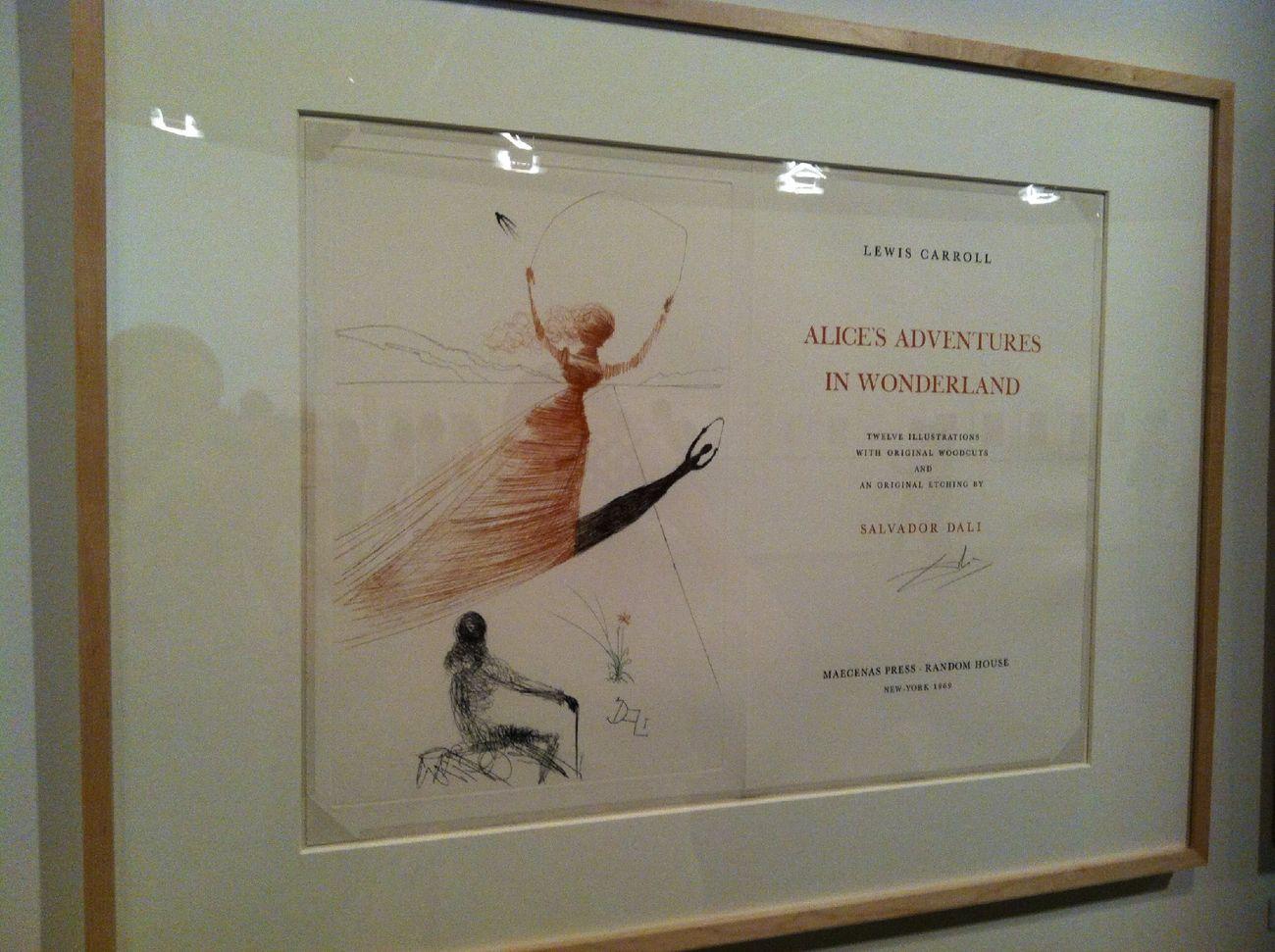 Art Salvadordali ilustrações de salvador dali para o conto de Alice no pais das maravilhas