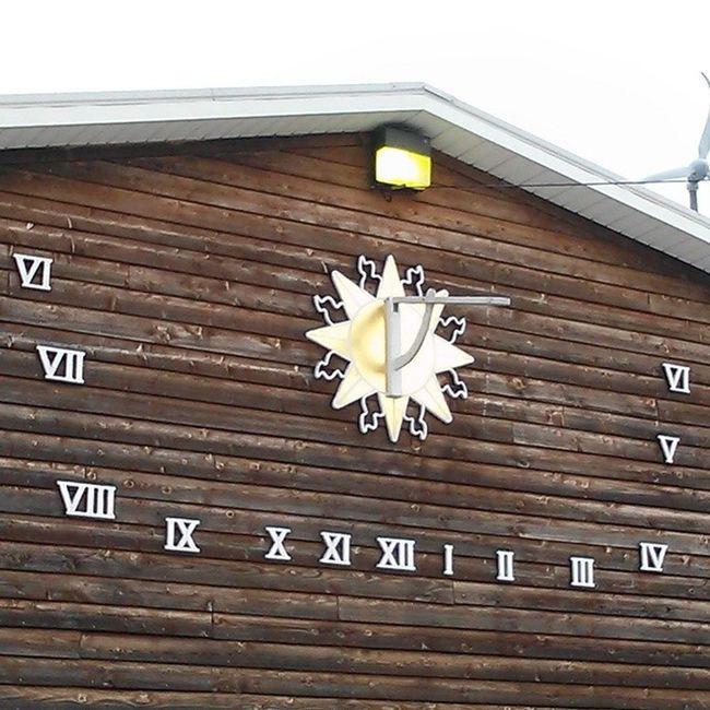 Sundial clock FenwickIsland