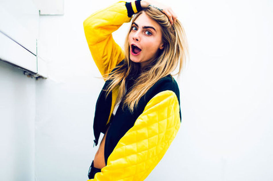 Cara <3 Crazypeople DKNY😍