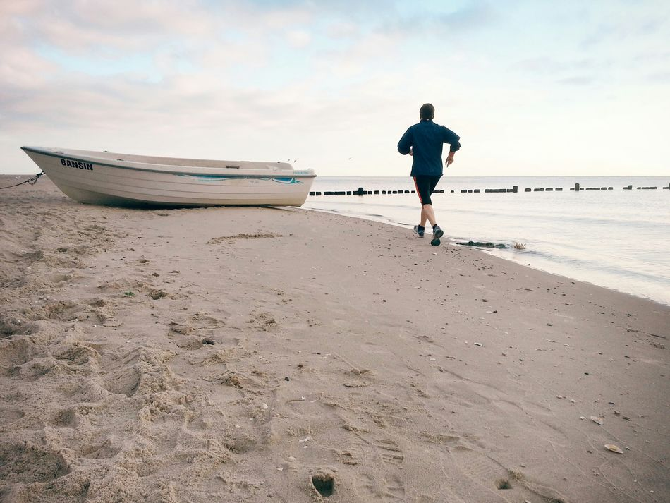 Beautiful stock photos of running, Beach, Beauty In Nature, Berlin, Casual Clothing