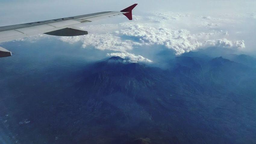 From An Airplane Window West Of Java Motorolamotog Airasia