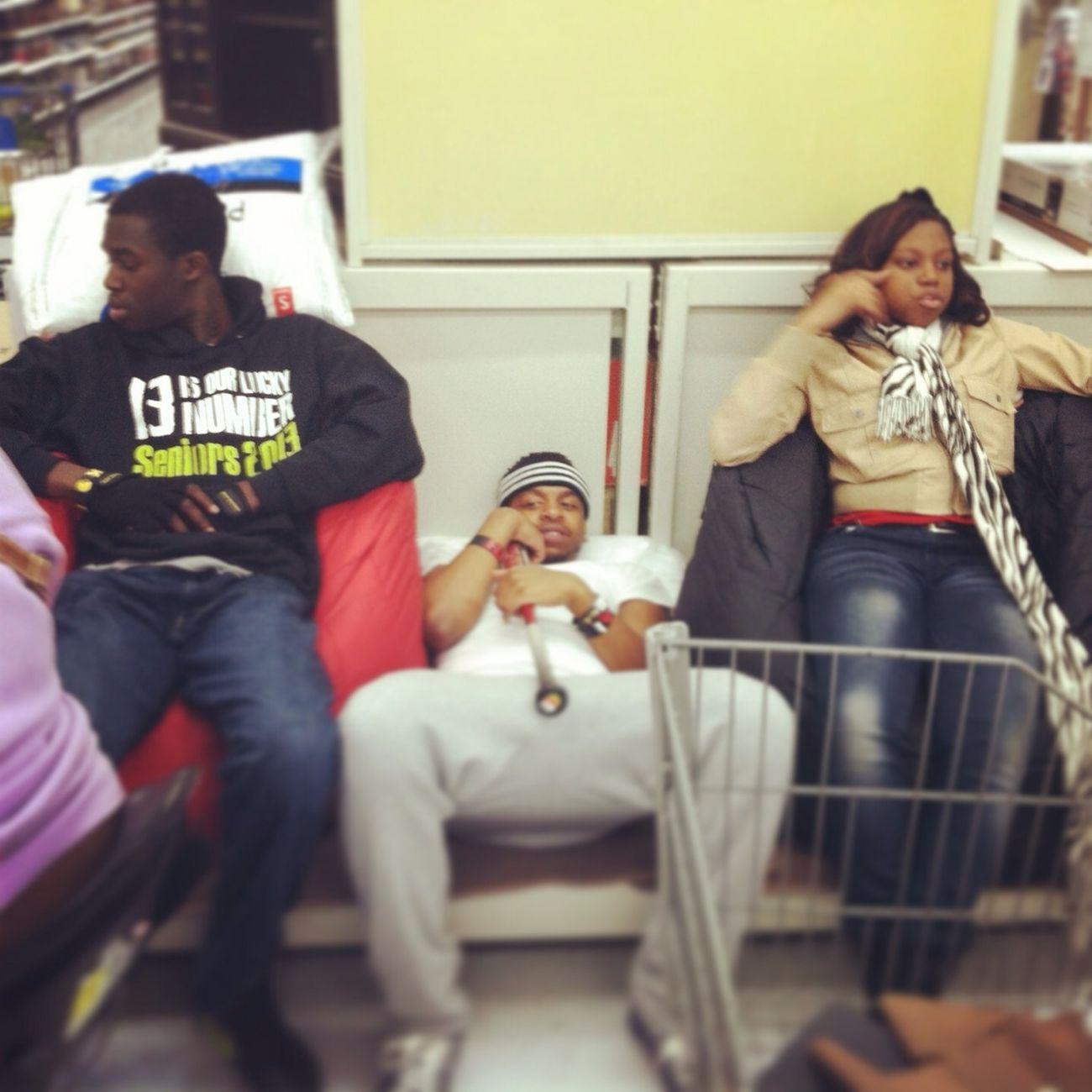 Chillin In Walmart