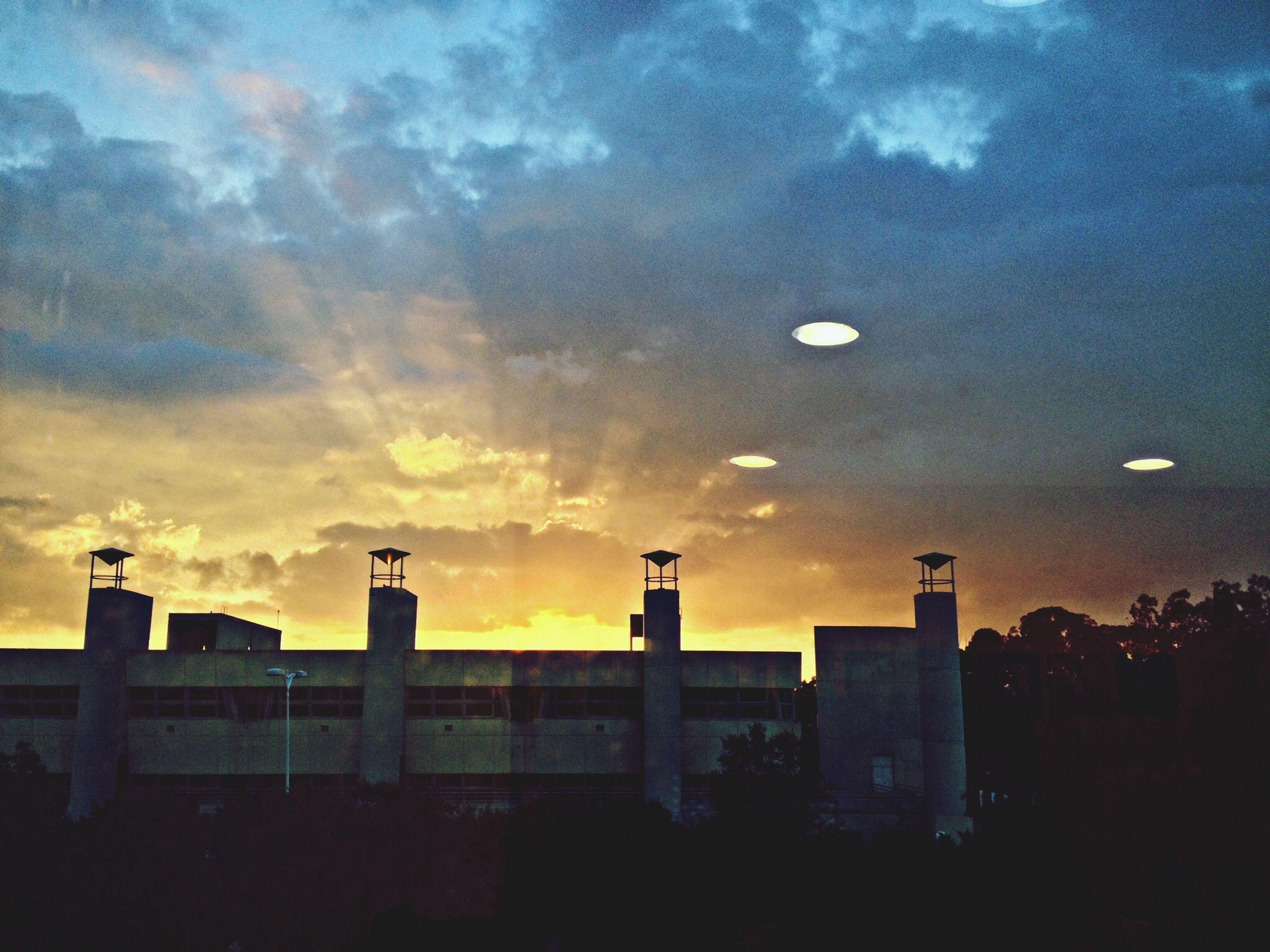 Landscape Architecture Sunset Sunrays