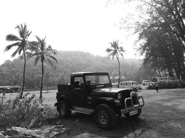 Goa India Индия гоа Beach Goa Outdoors Car Mahindra Transport Vehicle EyeEmNewHere