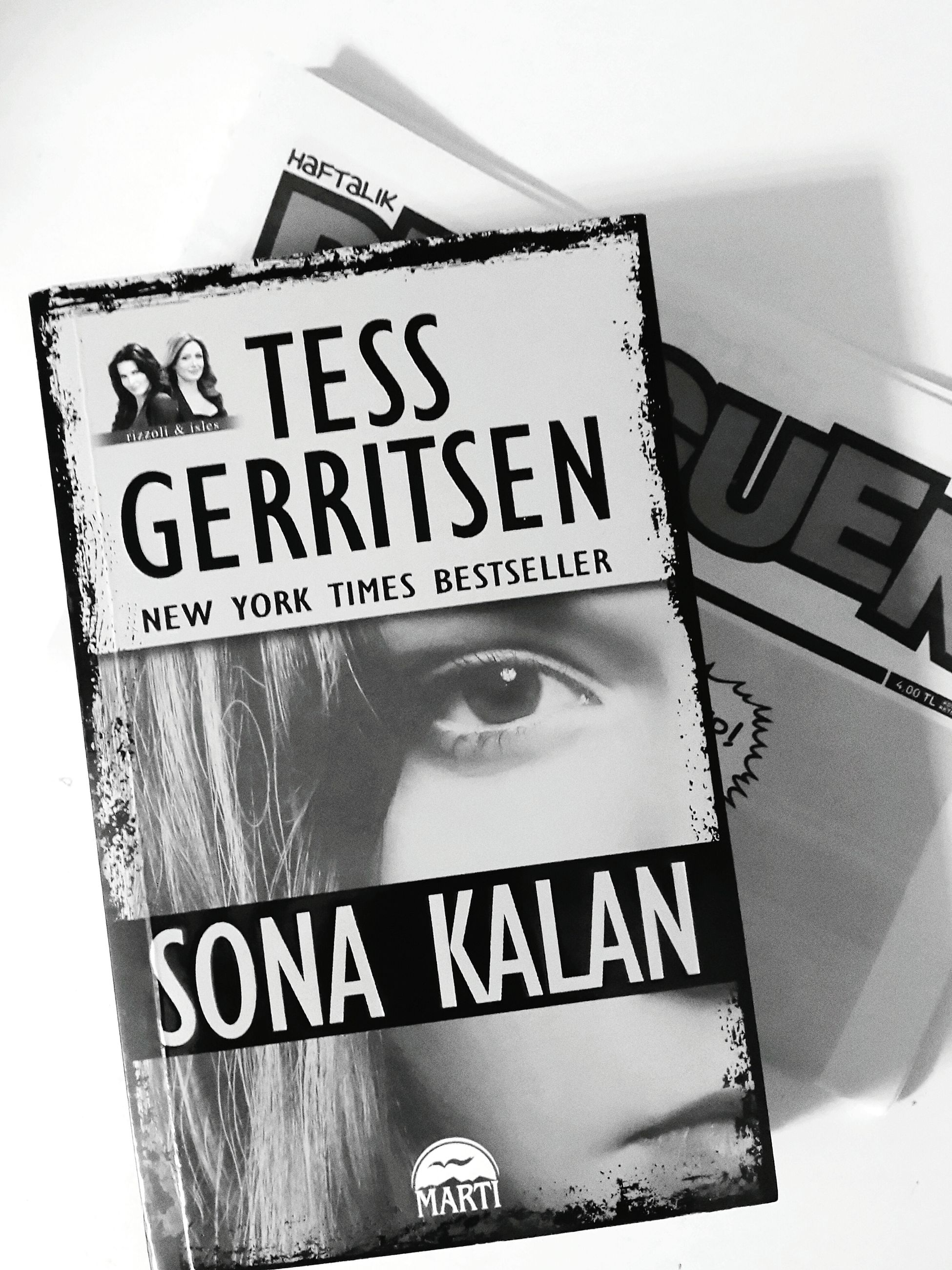 Tessgerritsen in Cerrah serisinin 9. Kitap Ini Okuyun ☺ Kitapsever Book Reading A Book