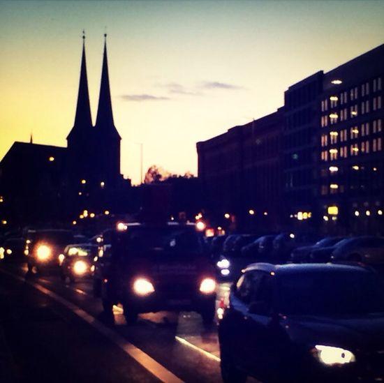 Hellandheaven Abendstimmung Churches Of Berlin