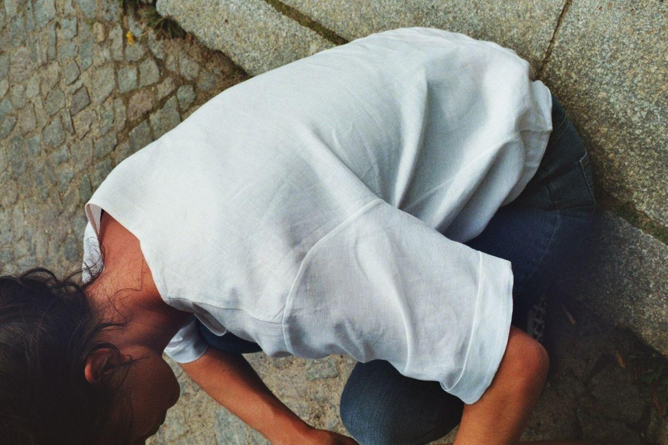 Linen Shirt By Laura Ann Huber