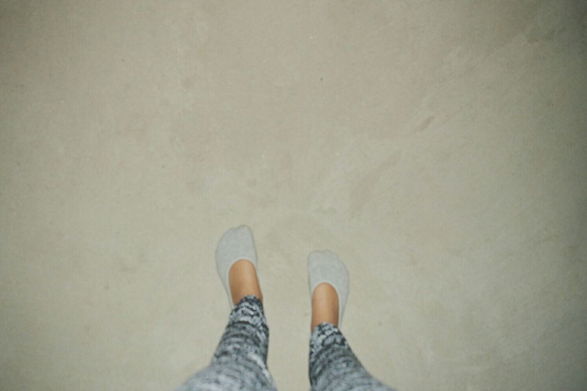 Barefoot story ... My mother took my shoes and made me walk barefooted all around the Hotell .