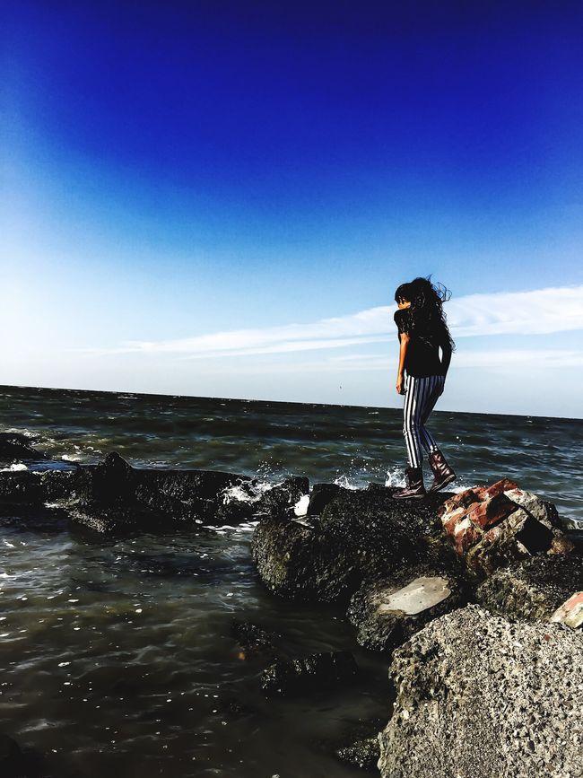 Ocean Adventure Wondering Little Lady  Free Spirit Human My Human