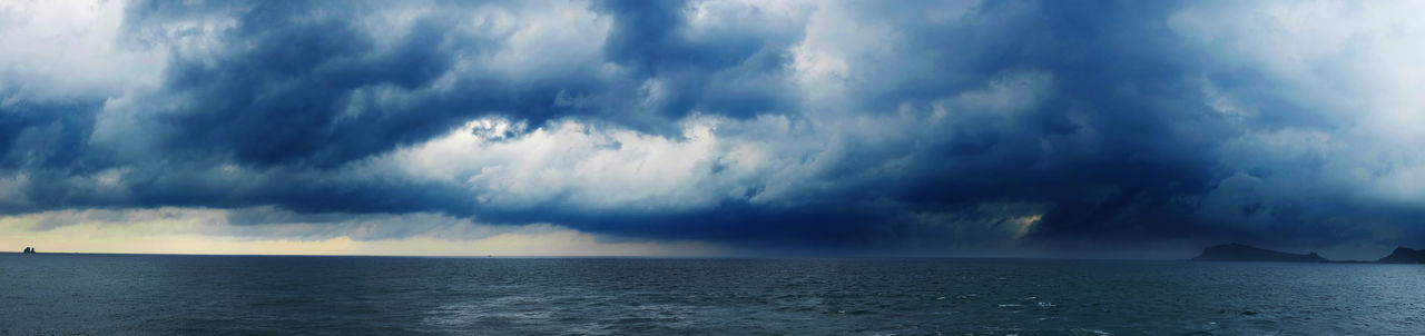 Storm comes Beauty In Nature Cloud - Sky Cloudscape Dramatic Sky Horizon Over Water Landscape Nature Nature No People Scenics Sea Sky Storm Storm Storm Cloud Thunder Thunderstorm Weather