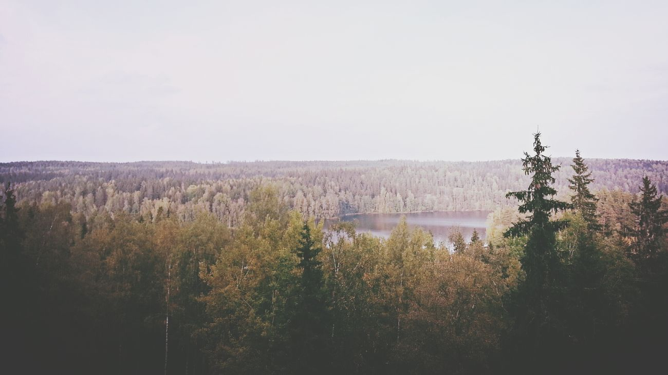 Finland Aulanko Forest Lake