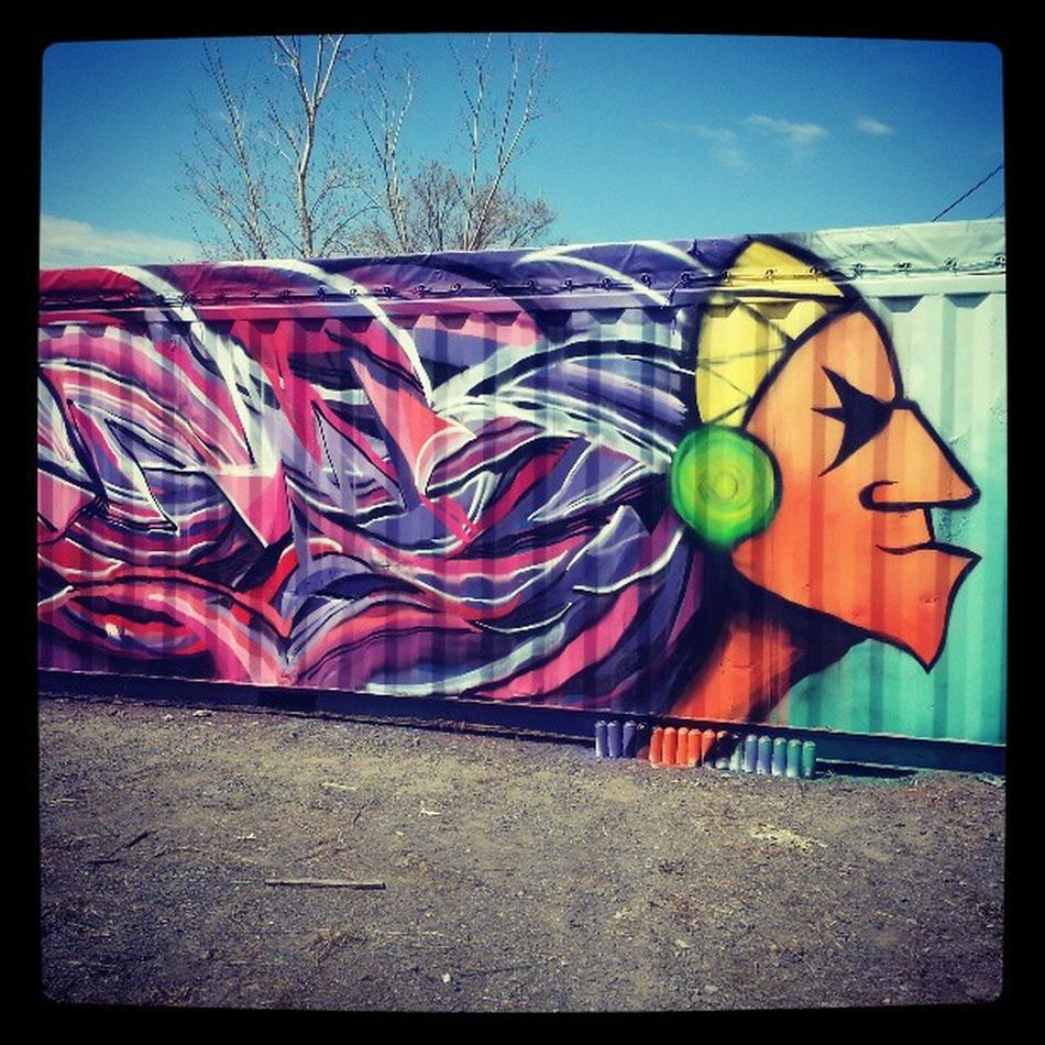 Mastrocola Spraypaint Portrait Inukt galerie203 perfectday firstside keep going dont stop