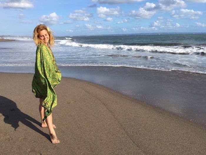 Just Me Ocean Bali INDONESIA Happy Moments