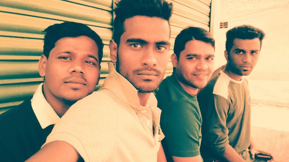 me with sme friends