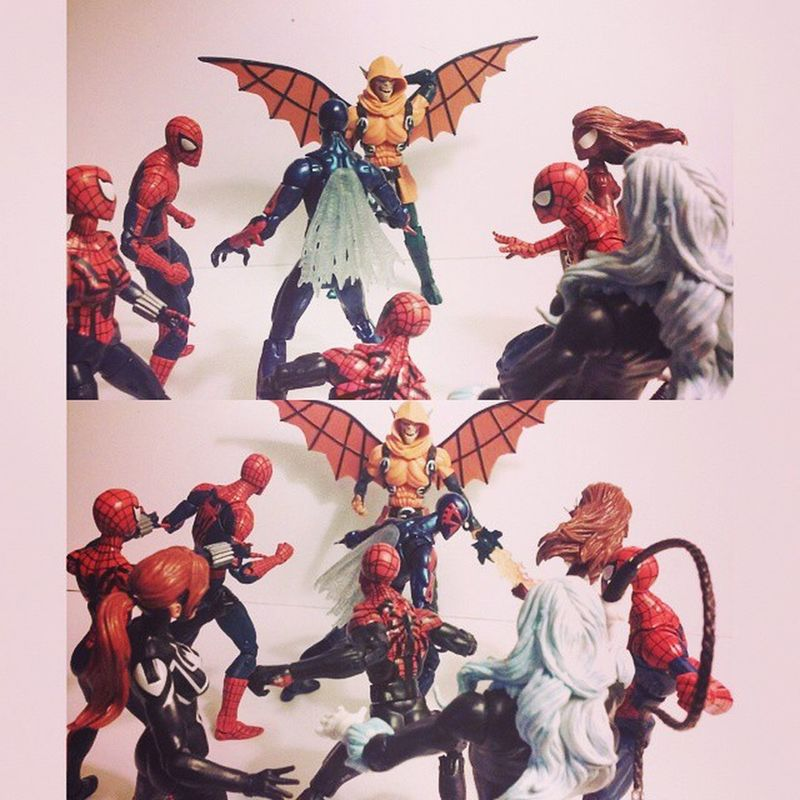 "2099 spiderman-""phil urich.."" Spidermen/women-""Who!?"" 2099 spiderman-""Hobgoblin"" Spidermen/women-""ooooooooo"" Marvellegends Hobgoblin SurperiorHobgoblin Surperiorspiderman Spiderwoman Spidey Spiderman Hasbro Infinitieseries Baf Amazingspiderman Philurich Marvel Mcu Figures Figurecollection Figurelover Figurelife Webwarrior Manchild Collection Collector Baf Spiderverse BLackCat feliciahardy disney comics acba"