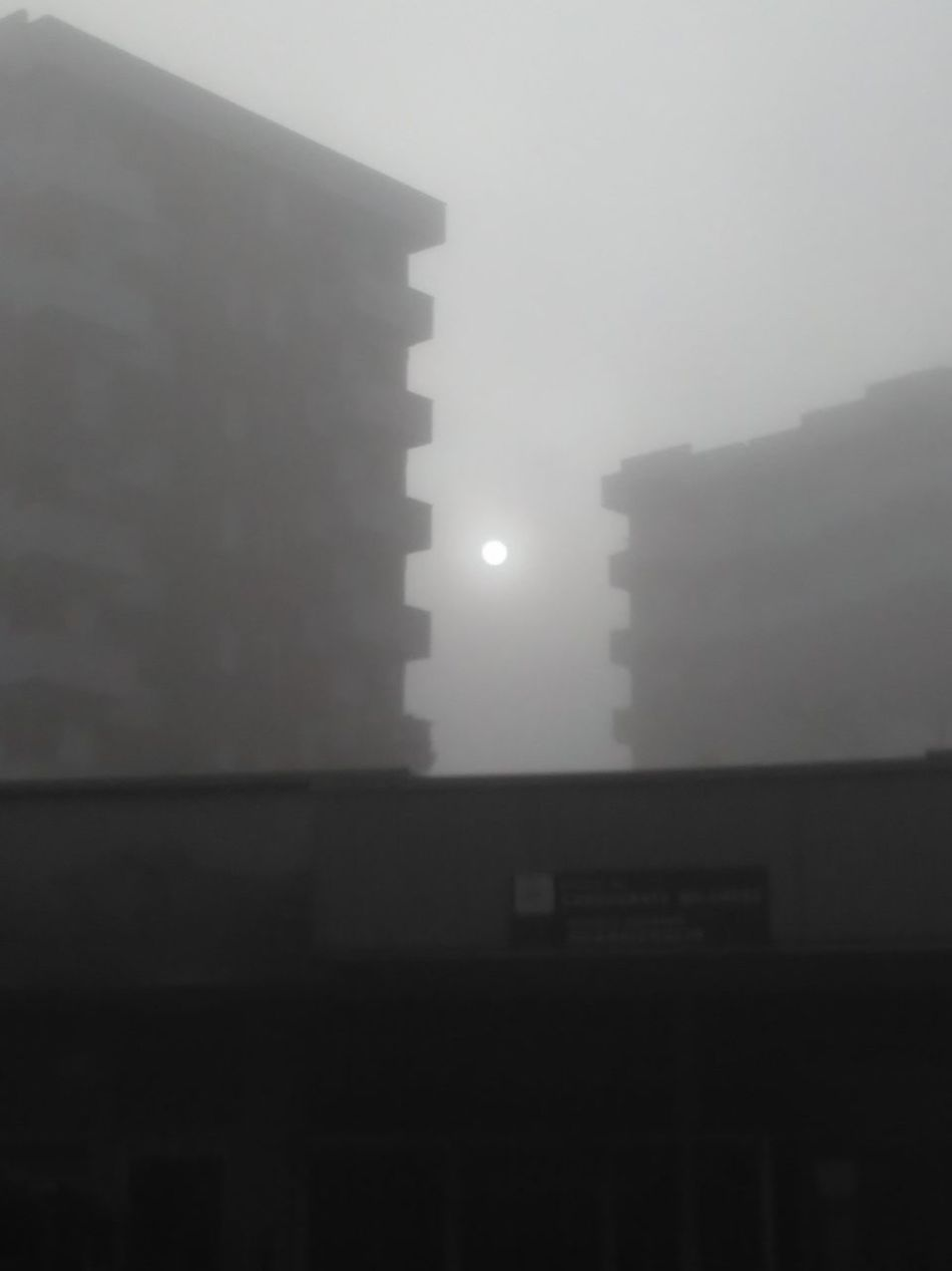 Fog No People Architecture Outdoors Old Buildings Malinchonic Landscape