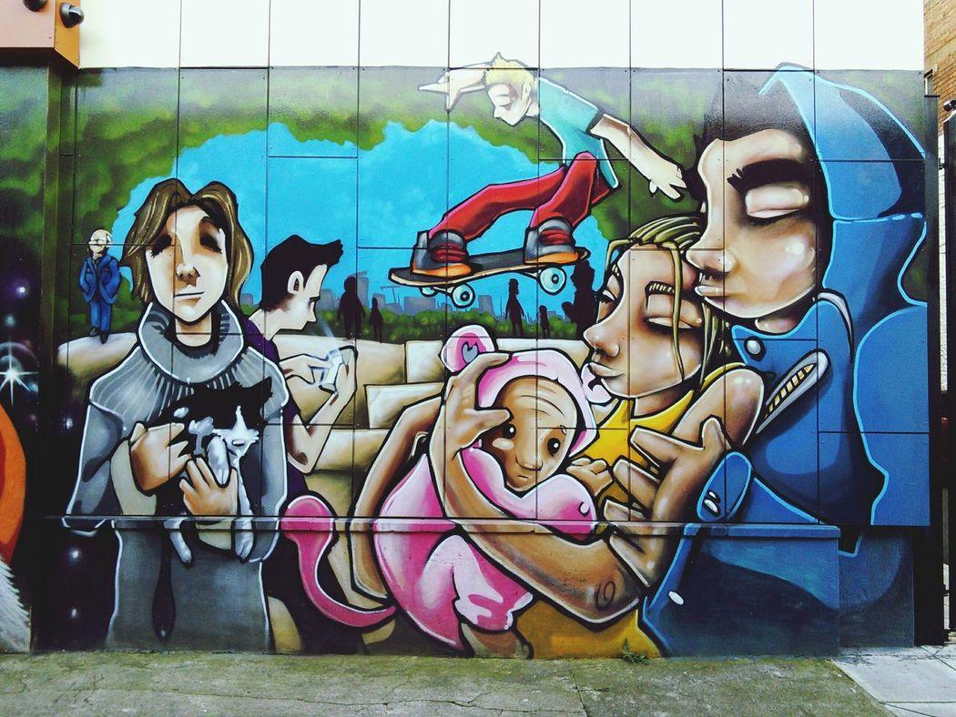 Streetart Graffiti Art