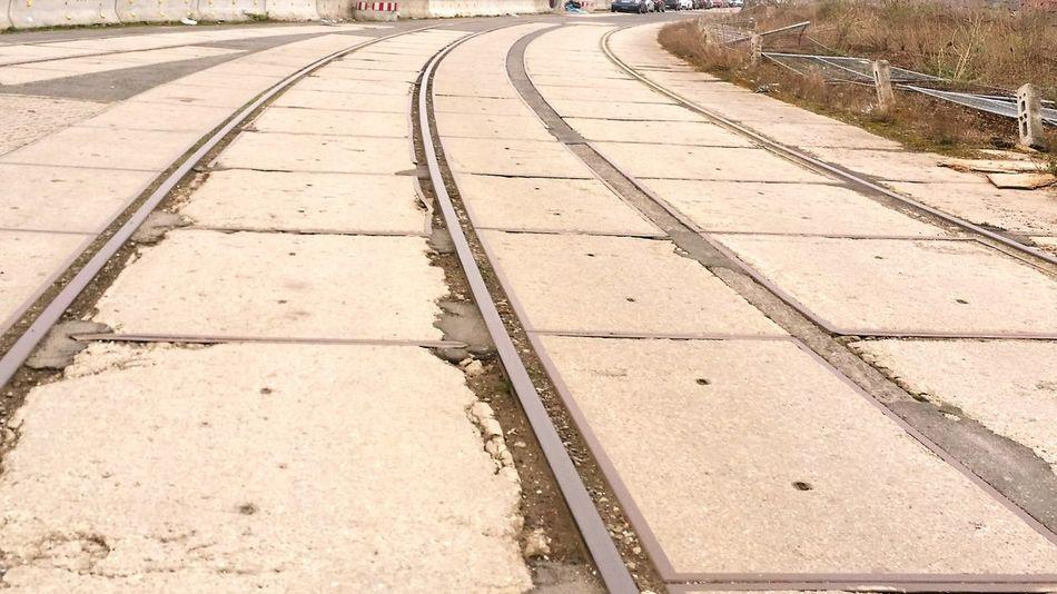 Habor Of Düsseldorf Trainway Out Of Order Concrete Jungle Steel Hello World Hometown