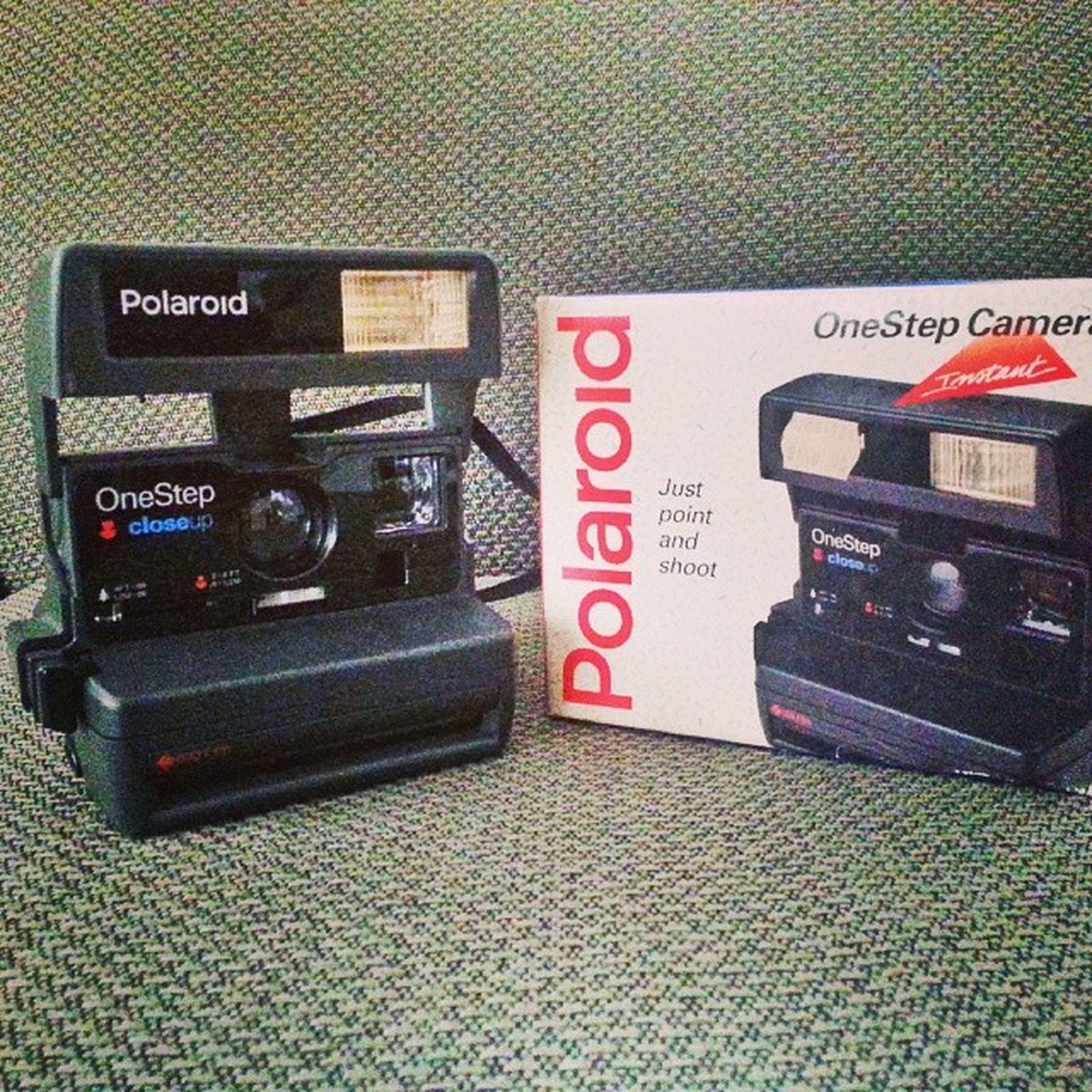 Juguete viejo Polaroid Instagramoldschool
