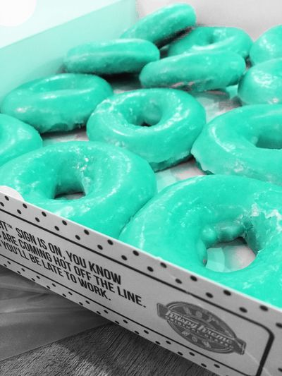 Food KrispyKreme Blue