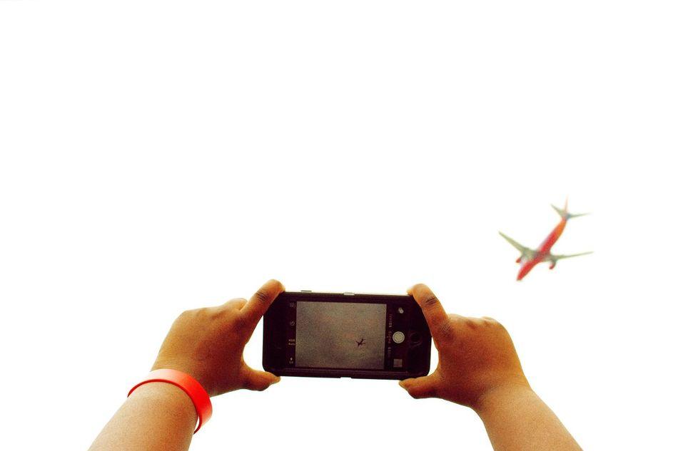 "My rendition of ""Catching A Plane"". The Moment - 2015 EyeEm Awards The Traveler - 2015 EyeEm Awards Eye4photography  WJII Photography Popular Photos EyeEm Best Shots Holiday POV"