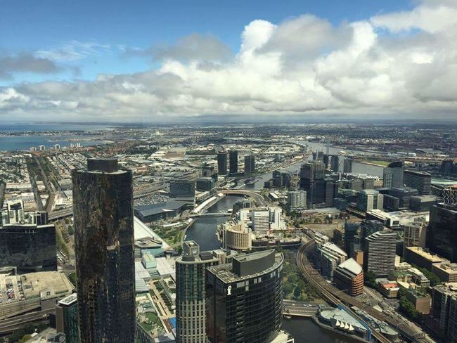 City Cityscape Travel Destinations Architecture Travel Urban Skyline Sky Tower Building Exterior Outdoors Skyscraper Cloud - Sky Modern Australia Melbourne View Eureka Skydeck 88 Floor Downtown City Building EyeEmNewHere Flying High The Architect - 2017 EyeEm Awards