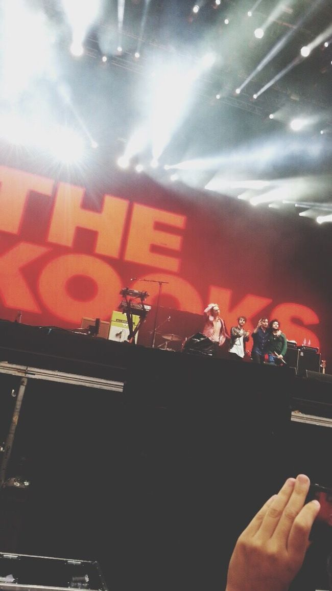 The Best Day Of My Life ♥️😭😍😱 The Kooks The Human Condition Catching A Show Lollapalooza Love Streetphotography From My Point Of View Bestoftheday Don't Be Square EyeEm Best Shots