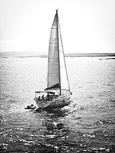 Ferry Boat Ride Relaxing Iphonephotography Boat Enjoying The Sun Blackandwhite Black And White Black & White Monochrome
