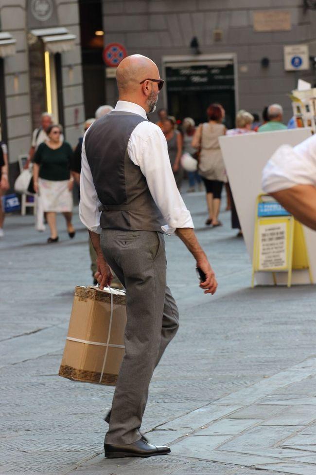 Elevated View Fashion Italianfashion Men Sartoriaitaliana Sartorial Street Streetphotography Walking People And Places.