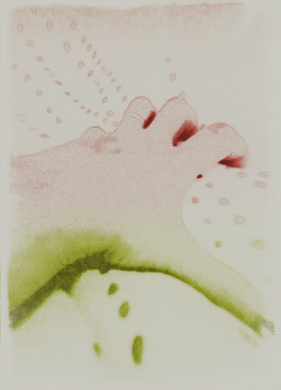 Cut And Paste Hand Human Body Part Close-up Textile People Uptight Nervous Tensed Pastel Colors